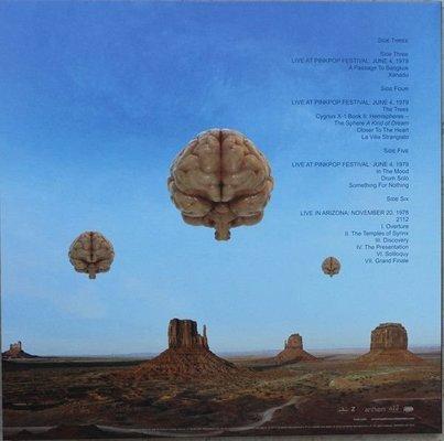 Rush Hemispheres (3 LP)