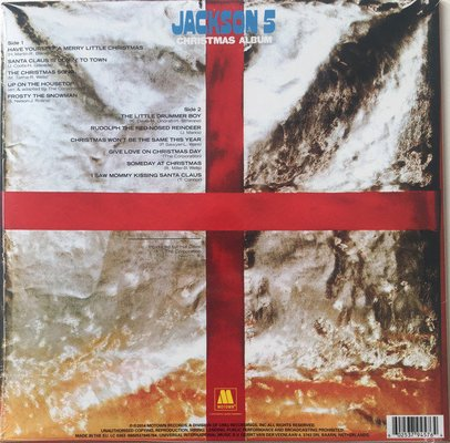 The Jacksons Christmas Album (Vinyl LP)