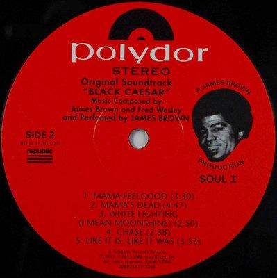 James Brown Black Caesar (Vinyl LP)