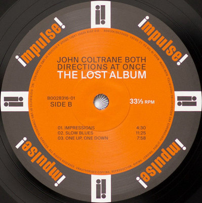 John Coltrane Both Directions At Once: (Vinyl LP)