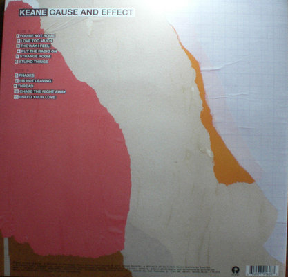 Keane Cause And Effect (Vinyl LP)
