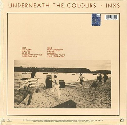 INXS Underneath The Colours (Vinyl LP)