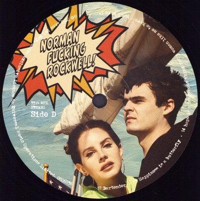 Lana Del Rey Norman Fucking Rockwell! (2 LP)