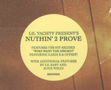 Lil Yachty Nuthin' 2 Prove (2 LP)