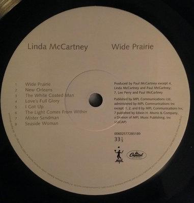 Linda McCartney Wide Prairie (Vinyl LP)
