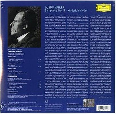Herbert von Karajan Symfonie 5 (Karajan, Mahler, Ludwig, Berliner Philharmoniker) (2 LP)