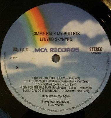 Lynyrd Skynyrd Gimme Back My Bullets (Vinyl LP)