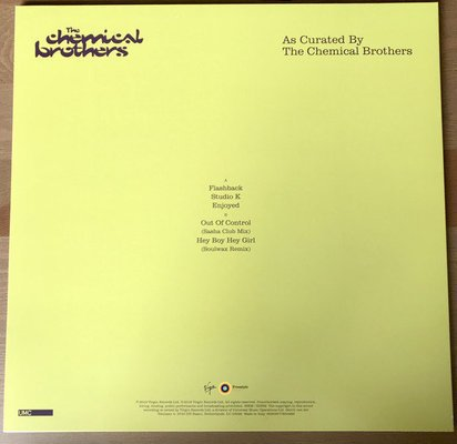 The Chemical Brothers Surrender (4 LP + 1 DVD)