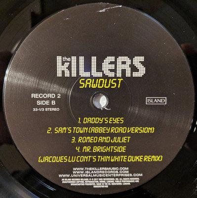 The Killers Sawdust (2 LP)