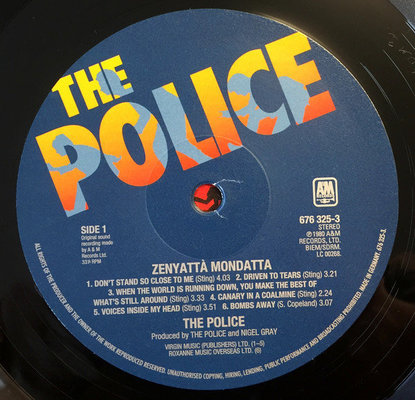 The Police Every Move You Make: The Studio Recordings (6 LP)