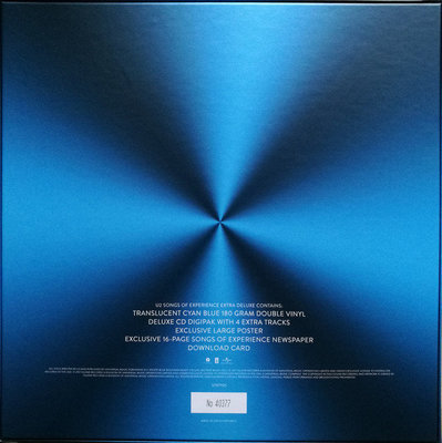 U2 Songs Of Experience (Deluxe Edition) (2 LP)