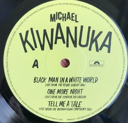 Michael Kiwanuka Live (Vinyl LP)