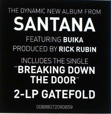 Santana Africa Speaks (2 LP)