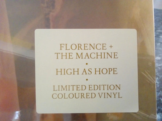 Florence and the Machine High As Hope (Coloured Vinyl LP)