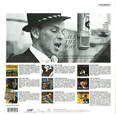 Frank Sinatra All The Way (Vinyl LP)