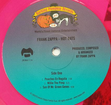 Frank Zappa The Hot Rats/Limited (Vinyl LP)