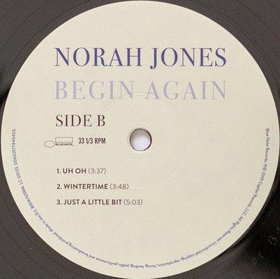 Norah Jones Begin Again (Vinyl LP)