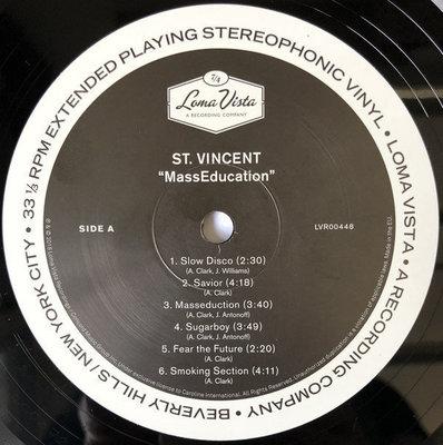 St. Vincent MassEducation (Vinyl LP)