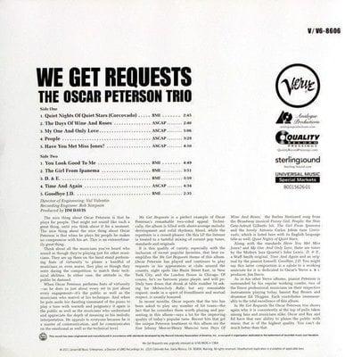 Oscar Peterson We Get Requests (Oscar Peterson Trio)