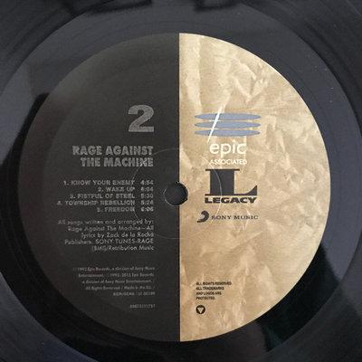 Rage Against The Machine Rage Against the Machine (Vinyl LP)