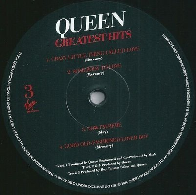 Queen Greatest Hits 1 (Remastered) (2 LP)