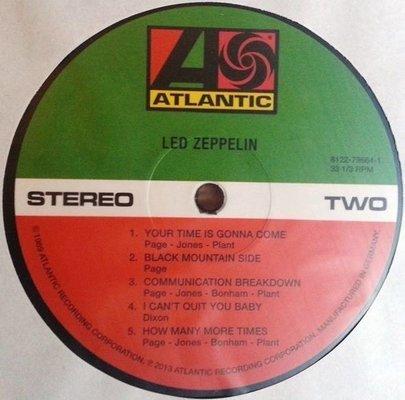 Led Zeppelin I (Vinyl LP)
