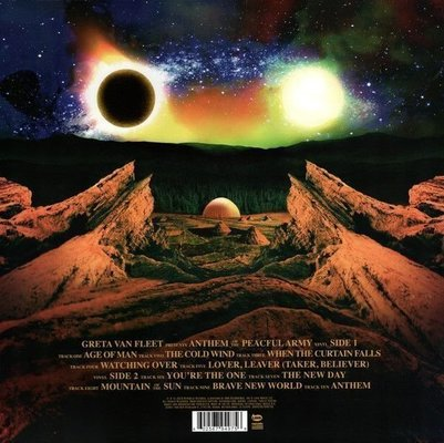 Greta Van Fleet Anthem Of The Peaceful Army (Vinyl LP)