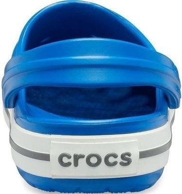 Crocs Kids' Crocband Clog Bright Cobalt/Charcoal 20-21