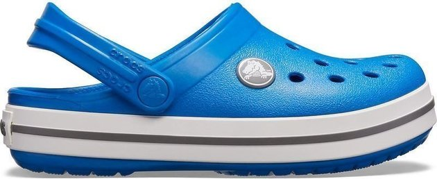 Crocs Kids' Crocband Clog Bright Cobalt/Charcoal 34-35