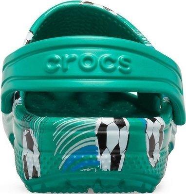 Crocs Preschool Classic Sport Ball Clog Deep Green 23-24