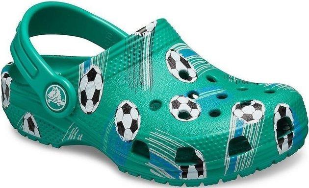 Crocs Preschool Classic Sport Ball Clog Deep Green 32-33