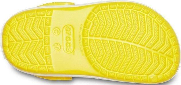 Crocs Kids' Crocband Clog Lemon 27-28