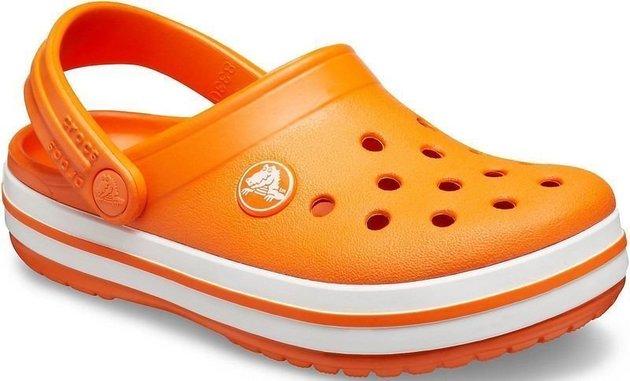 Crocs Kids' Crocband Clog Orange 32-33
