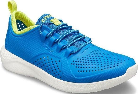 Crocs Kids' LiteRide Pacer Bright Cobalt/Citrus 37-38