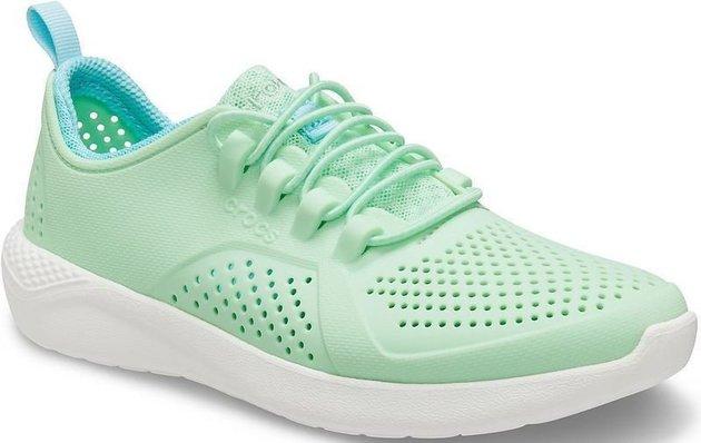 Crocs Kids' LiteRide Pacer Neo Mint/White 30-31