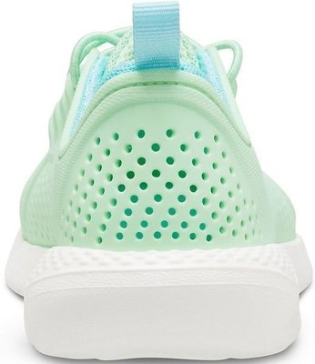 Crocs Kids' LiteRide Pacer Neo Mint/White 32-33