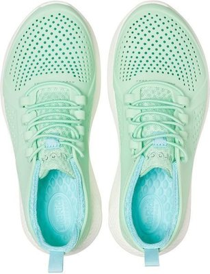 Crocs Kids' LiteRide Pacer Neo Mint/White 33-34