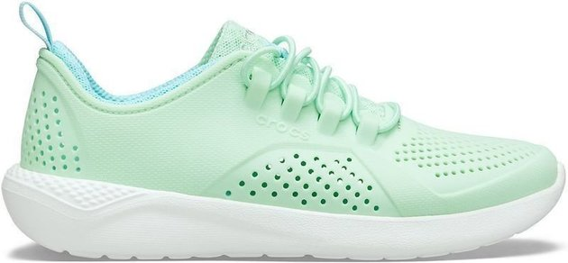 Crocs Kids' LiteRide Pacer Neo Mint/White 34-35