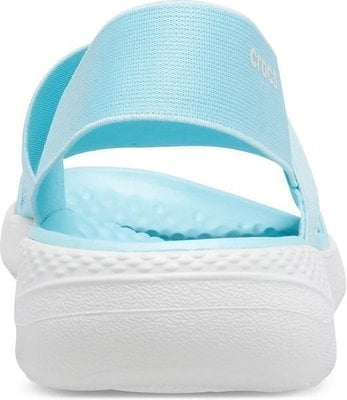 Crocs Women's LiteRide Stretch Sandal Ice Blue/Almost White 34-35