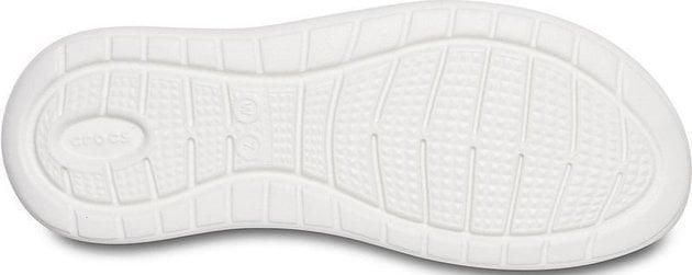 Crocs Women's LiteRide Stretch Sandal Ice Blue/Almost White 42-43