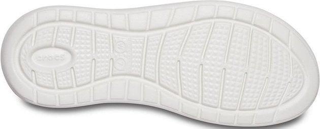 Crocs Women's LiteRide Stretch Sandal Electric Pink/Almost White 34-35