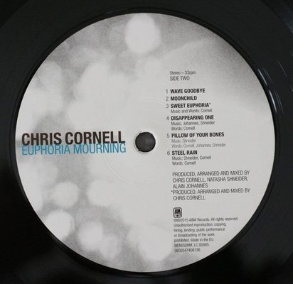 Chris Cornell Euphoria Mourning (Vinyl LP)