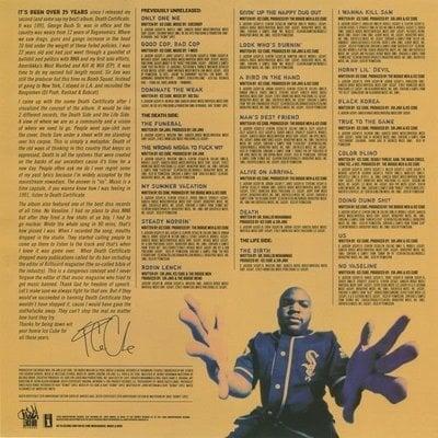Ice Cube Death Certificate (2 LP)