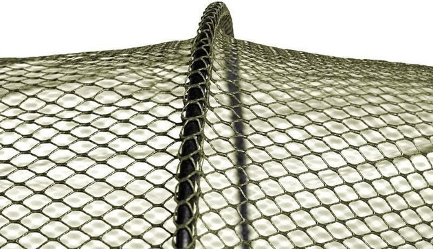 Delphin Rubberized Keepnet BASE-R 100cm
