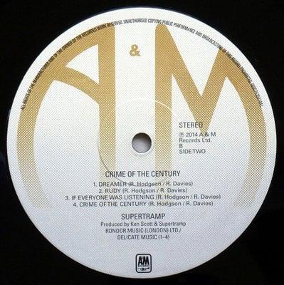 Supertramp Crime Of The Century (40th Anniversary Edition) (Vinyl LP)