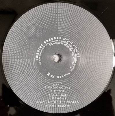 Imagine Dragons Night Visions (Vinyl LP)