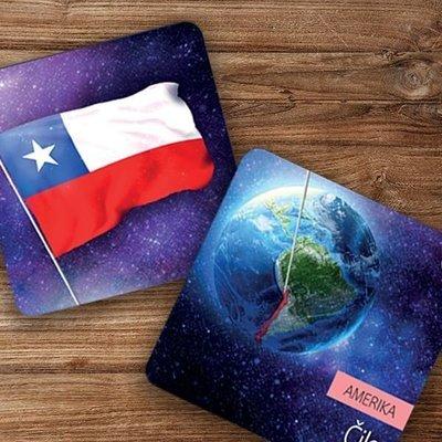 Albi Vedomostné pexeso - Vlajky Ameriky