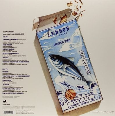 John Lennon Shaved Fish (Vinyl LP)