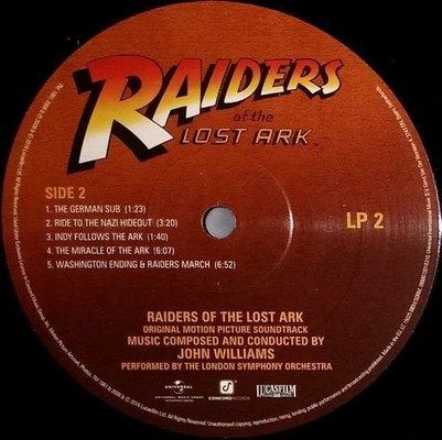 John Williams Raiders Of The Lost Ark (2 LP)