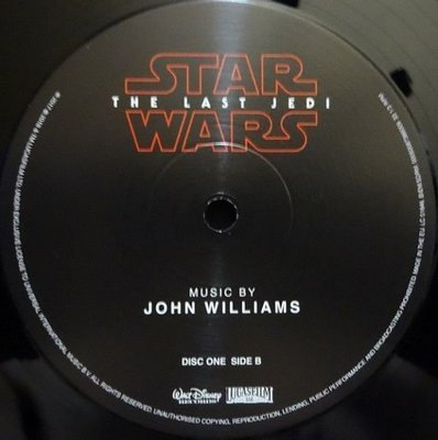John Williams Star Wars: The Last Jedi (2 LP)